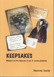 Author Sherene Suchy In Conversation about her new book Keepsakes. Memoir on the 'museum of you' & estate planning