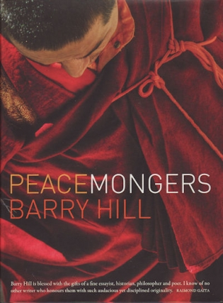 CANCELLED - A Conversation about Peace - Author Barry Hill In Conversation with Professor Tessa Morris-Suzuki