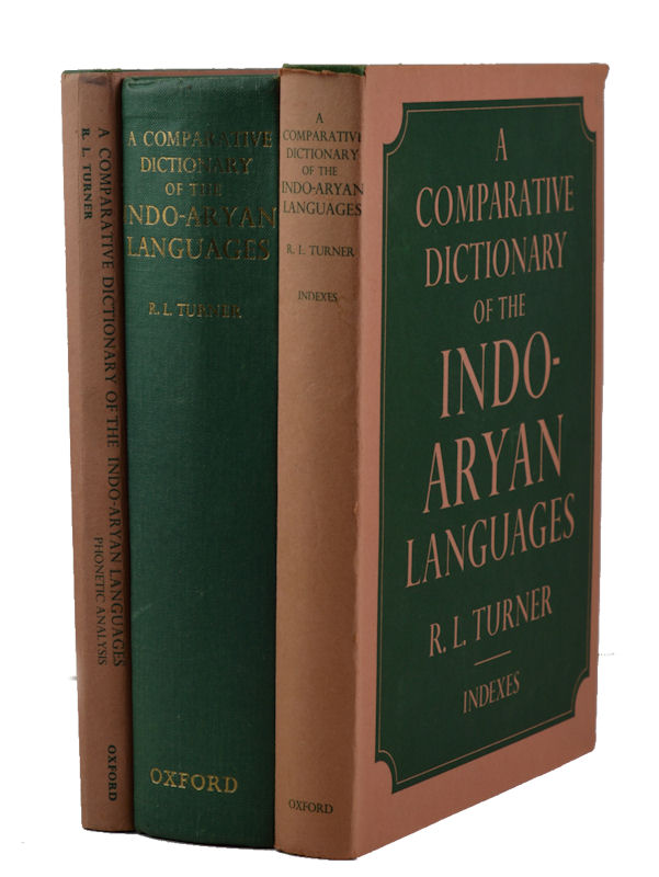 A Comparative Dictionary of the Indo-Aryan Languages. R. L. TURNER.