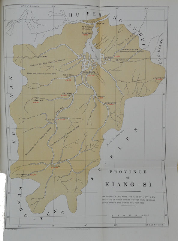 Diplomatic and Consular Reports on Trade and Finance. China. Report for the Year 1889 on the Trade of Kewkiang. Foreign Office 1890 Annual Series No. 704. CLEMENT F. R.FRANCIS ROMILLY ALLEN.