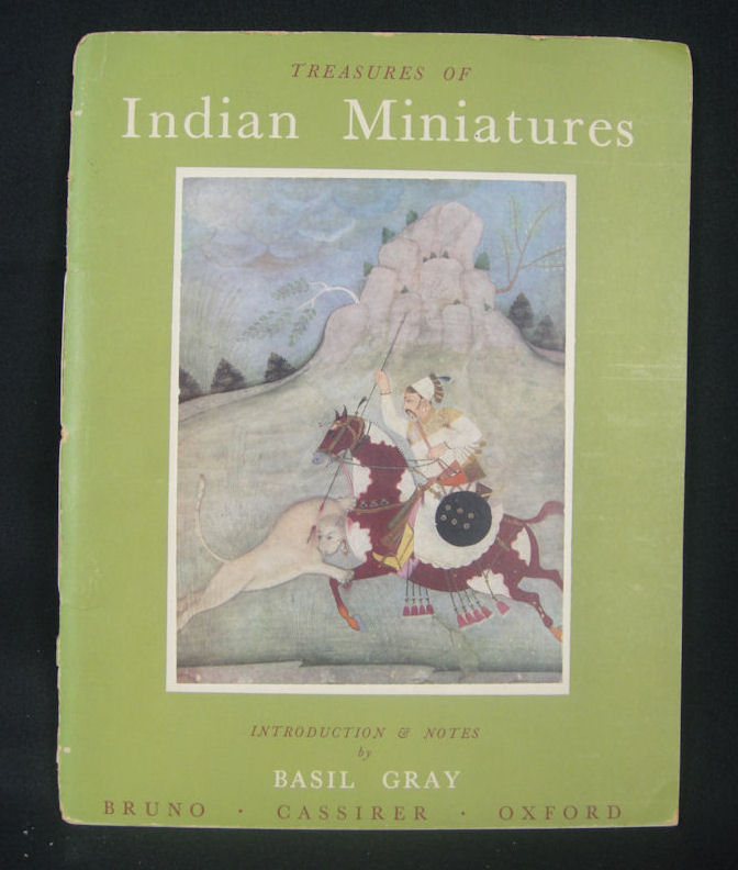 Treasures of Indian Miniatures in the Bikaner Palace Collection. BASIL GRAY, INTRODUCTION.