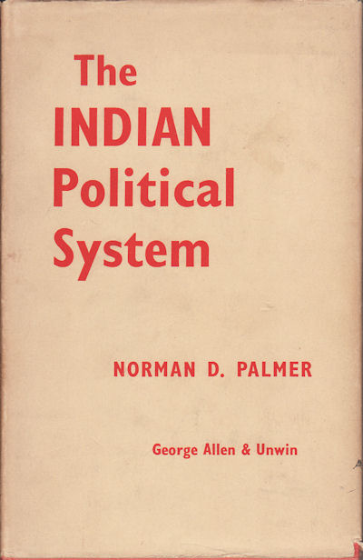 The Indian Political System. NORMAN D. PALMER.