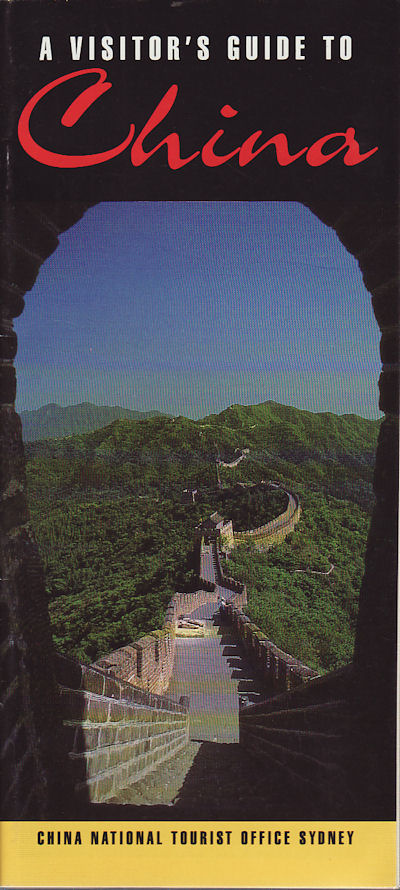A Visitor's Guide to China. ZHU SHANZHONG.