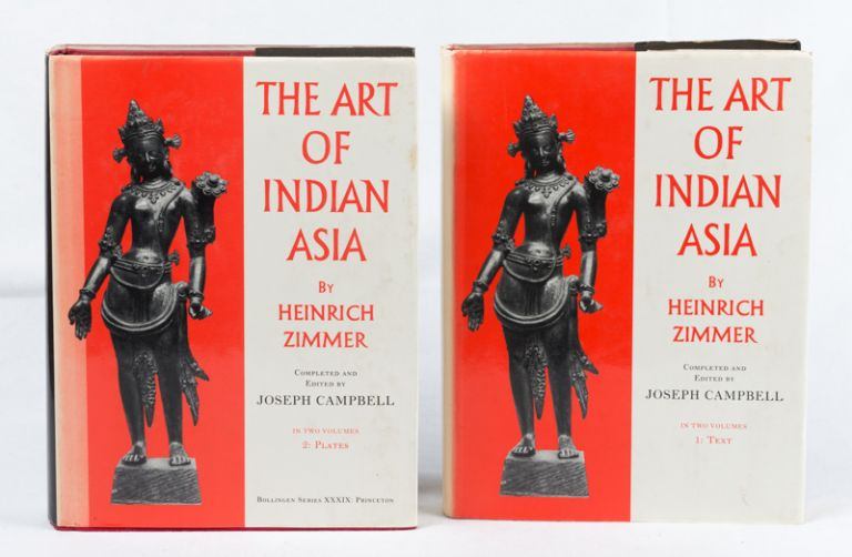 The Art of Indian Asia. Its Mythology and Transformations. HEINRICH ZIMMER.