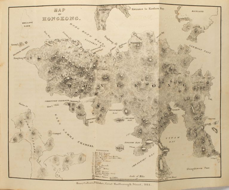 Narrative of the Voyages and Services of The Nemesis from 1840 to 1843; And of the Combined Naval and Military Operations in China; Comprising a Complete Account of The Colony of Hong Kong, and Remarks on the Character and Habits of the Chinese. From the Notes of Commander W.H. Hall, R.N. WD BERNARD.