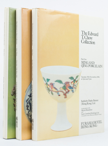 The Edward T. Chow Collection. Part Two (Early Chinese Ceramics and Ancient Bronzes) and Part Three (Ming and Qing Porcelain and Works of Art) of a three volume series. MICHAEL BEURDELEY, IN ASSOCIATION WITH.