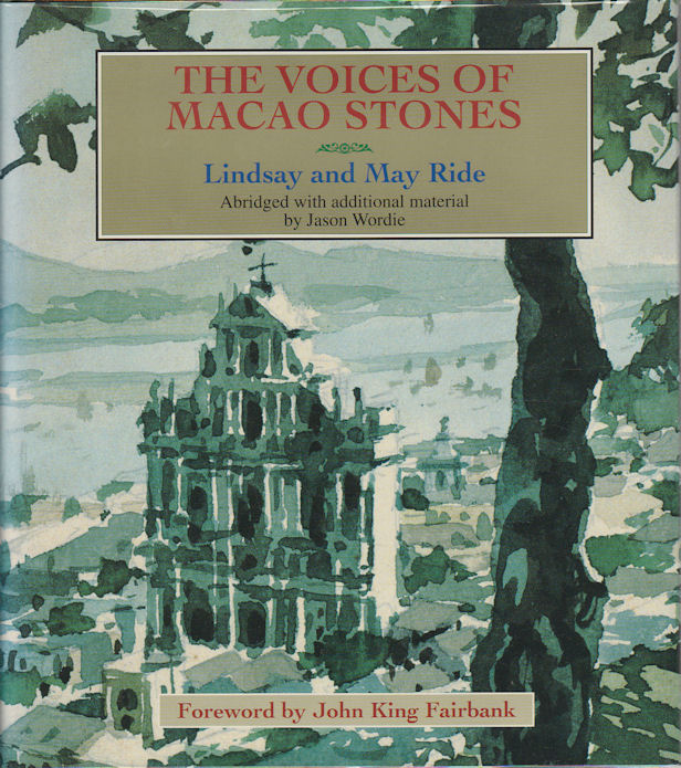 The Voices of Macao Stones. ABRIDGED WITH ADDITIONAL, JASON WORDIE.