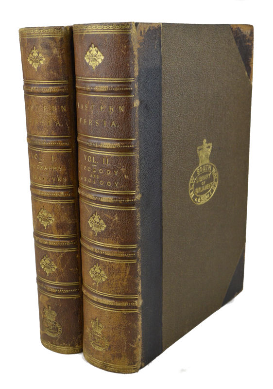 Eastern Persia an Account of the Journeys of the Persian Boundary Commission 1870-71-72. MAJOR ST. JOHN, EUAN SMITH AND W. T. BLANDFORD, MAJOR LOVETT.