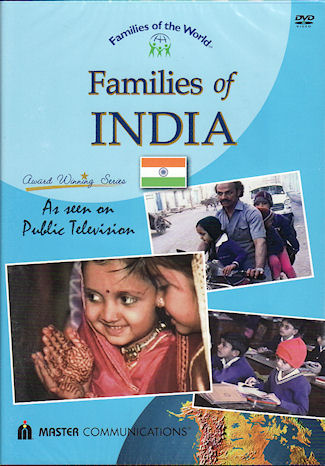 Families of India. DVD. DAY IN THE LIFE OF TWO INDIAN FAMILIES.