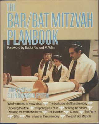 The Bar/Bat Mitzvah Planbook. JANE AND ELLEN ROBINSON EPSTEIN LEWIT
