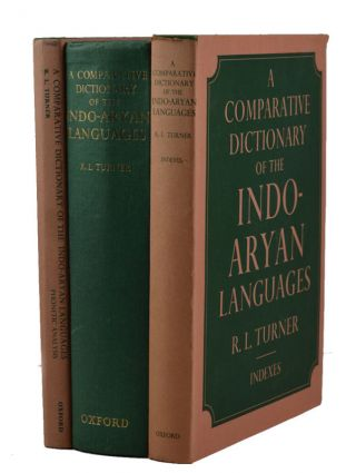 A Comparative Dictionary of the Indo-Aryan Languages. R. L. TURNER