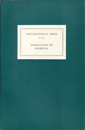 Critical Survey of Studies on the Languages of Borneo. A. A. AND E. M. UHLENBECK CENSE