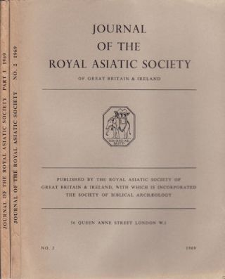 Journal of the Royal Asiatic Society of Great Britain and Ireland. 1969. R. E. ASHER, L. A....