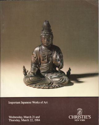 Important Japanese Works of Art. CHRISTIE'S AUCTION CATALOGUE