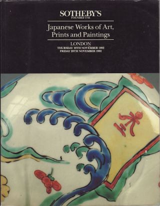 Japanese Works of Art, Prints and Paintings. SOTHEBY'S AUCTION CATALOGUE