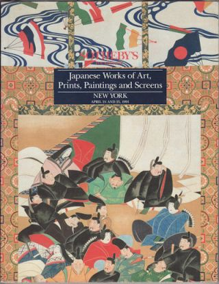 Japanese Works of Art, Prints, Paintings and Screens. SOTHEBY'S AUCTION CATALOGUE