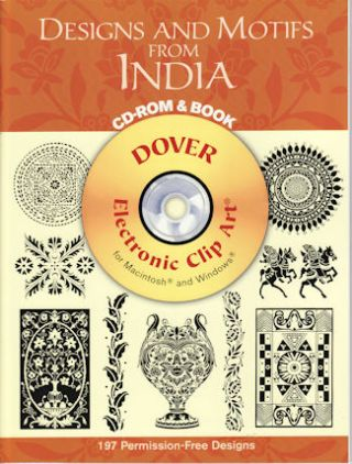 Designs and Motifs from India CD Rom & Book. MARTY NOBLE