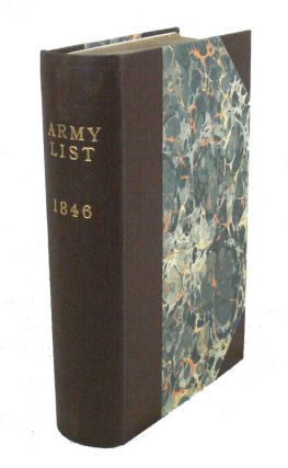 A List of The Officers of the Army and of the Corps of Royal Marines, on Full, Retired and Half-Pay: with an Index. ARMY LIST.