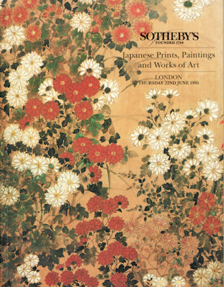 Japanese Prints, Paintings and Works of Art. SOTHEBY'S AUCTION CATALOGUE