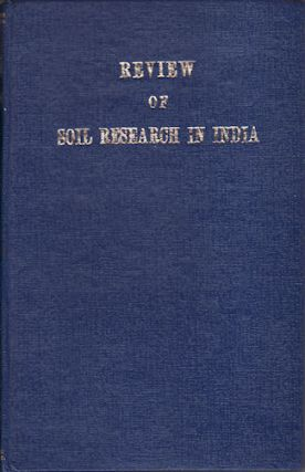 Review of Soil Research in India. J. S. AND S. P. RAY CHAUDHURI KANWAR