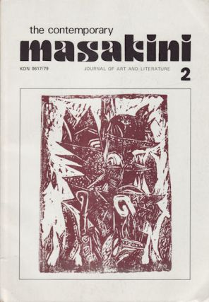 The Contemporary Masakini Journal of Art and Literature. Nombor/Number 2, Jilid/Volume 1. JOURNAL.
