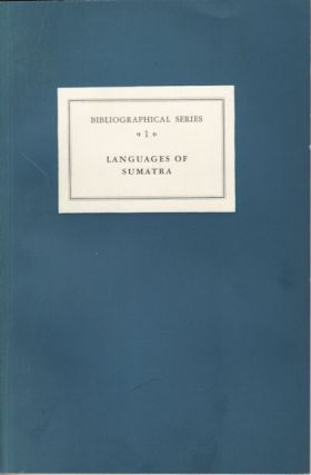Critical Survey of Studies on the Languages of Sumatra. P. VOORHOEVE.