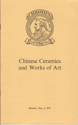 Oriental Ceramics and Works of Art. EXHIBITION CATALOGUE.