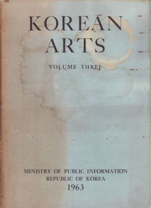 Korean Arts. Volume Three. Architecture. DR. WON-YONG KIM
