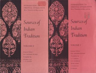 Sources of Indian Tradition. WM. THEODORE DE BARY