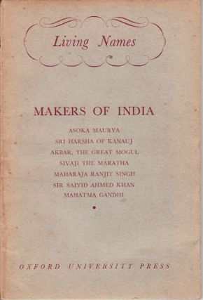 Makers of India. H. G. RAWLINSON.