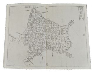 銅鐫 大日本國細圖 西国之部 下. [Dōsen Dainihonkoku saizu saigoku-no-bu ge]. [Copperplate Printed Detailed map of Great Japan: Section of Western Japan Part 2]. 河内屋喜兵衛 ET, KYOTO, EDO, OSAKA, MURAKAMI KANBEI, SUHARAYA MOHEI, KAWACHIYA KIHEI.