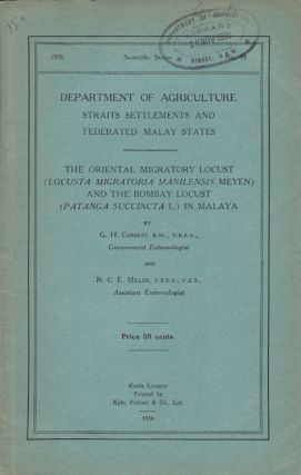 The Oriental Micratory Locust (Locusta Migratoria Manilensis Meyen) and the Bombay Locust...