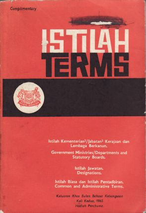 Istilah. Terms. MINISTRY OF CULTURE.
