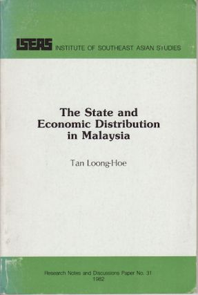 The State and Economic Distribution in Malaysia. Towards an Alternative Theoretical Approach....
