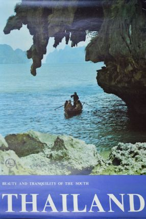 Thailand. Beauty and Tranquility of the South. TRAVEL POSTER - SOUTHERN THAILAND