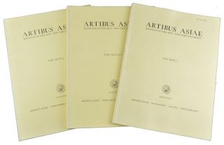 Artibus Asiae. Vol. XLIV 1, 2, 3, 4. NEW YORK UNIVERSITY INSTITUTE OF FINE ARTS