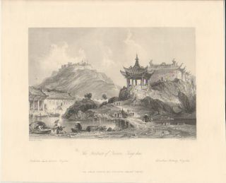 The Fortress of Terror, Ting-hai. THOMAS ALLOM