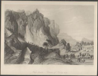 Han-tseuen, - Province of Kiang-nan. [China Antique Print]. THOMAS ALLOM