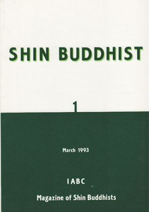 Shin Buddhist: Magazine of Shin Buddhists. SASAKI ESHO