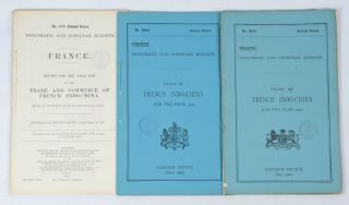 Trade of French Indo-China. FRENCH INDO-CHINA TRADE EARLY TWENTIETH CENTURY REPORTS