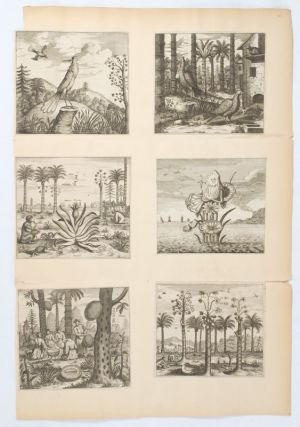 Collection of Six Small Engravings from Nieuhoff's An Embassy from the East India Company... to... China.