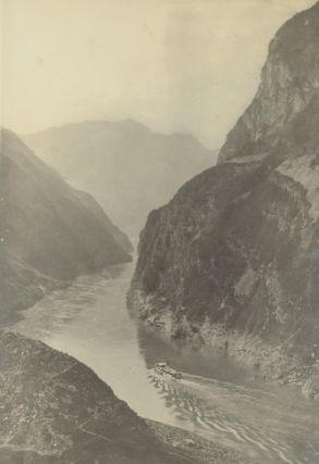 The Grandeur of the Gorges. Fifty Photographic Studies, With Descriptive Notes, of China's Great Waterway, The Yangtze Kiang, Including Twelve Hand-Coloured Prints.
