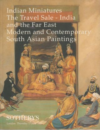 Indian Miniatures. The Travel sale - India and the Far East; modern and contemporary South Asian...