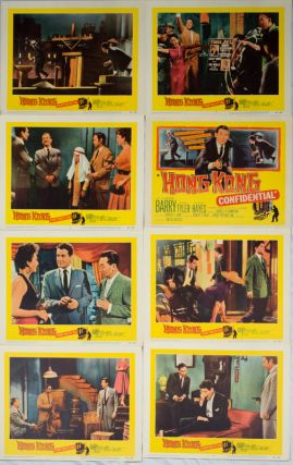 Hong Kong Confidential 1958 United Artists Movie]*. HONG KONG CONFIDENTIAL LOBBY CARD SET.