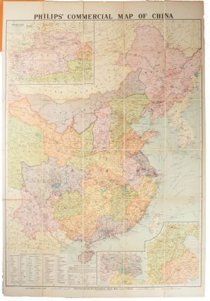 Philips' Commercial Map of China. SIR ALEXANDER HOSIE