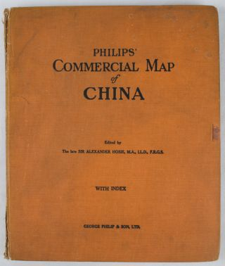 Philips' Commercial Map of China