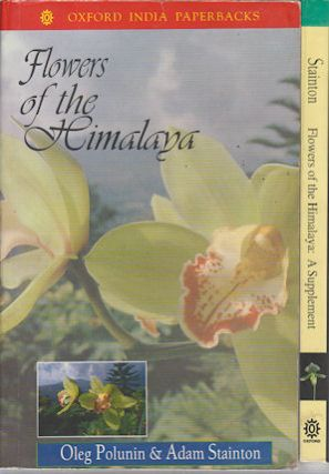 Flowers of the Himalaya with Supplement Volume. OLEG AND ADAM STAINTON POLUNIN