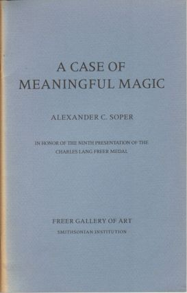 A Case of Meaningful Magic. ALEXANDER C. SOPER