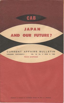 Japan and Our Future?