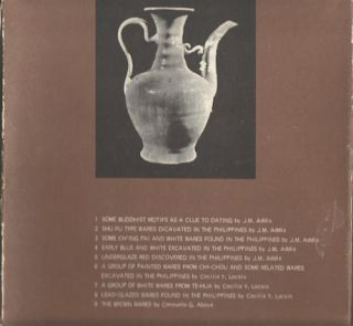 Manila Trade Pottery Seminar. Introductory Notes. 8 Volumes out of 9. ADDIS J. M., COMPILED